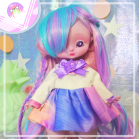 "Sailorfuku - Rainbow power  - For Mouse Mimi /Bunnycorn Lamoon - Online shop ""Villi Tunes Doll"""