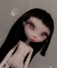 "Lora - light-gray (RESIN) - Online shop ""Villi Tunes Doll"""
