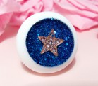 "Eye 50 mm - white star in spase - Online shop ""Villi Tunes Doll"""