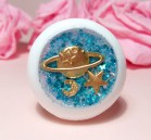 "Eye 50 mm - blue star&planet - Online shop ""Villi Tunes Doll"""
