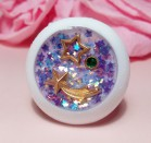 "Eye 50 mm - purple star - Online shop ""Villi Tunes Doll"""