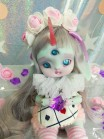"FULL-SET - for Lamoon - ALISE in WONDERLAND - White rabbit - Online shop ""Villi Tunes Doll"""