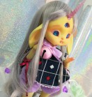 "FULL-SET - for Lamoon - ALISE in WONDERLAND - Dark rabbit - Online shop ""Villi Tunes Doll"""