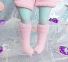 "Socks size 1\6 - plush pink - Online shop ""Villi Tunes Doll"""