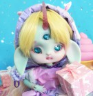 "FULL-SET - for Lamoon - pink purple candy - Online shop ""Villi Tunes Doll"""