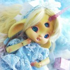 "FULL-SET - for Lamoon - Light blue Snowflake - lolita - Online shop ""Villi Tunes Doll"""