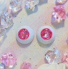 "eyes 16 -*Rubellite Rose* - Online shop ""Villi Tunes Doll"""