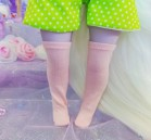 "Socks size 1\6 - simple pink - Online shop ""Villi Tunes Doll"""