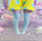 "Socks size 1\6 - simple blue  - Online shop ""Villi Tunes Doll"""