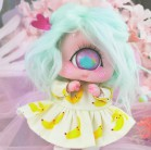 "Dress - Bananas - Online shop ""Villi Tunes Doll"""