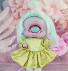 "Dress - Shiny - Yellow - Online shop ""Villi Tunes Doll"""