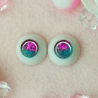 "eyes 18 mm -* Pink snow * - Online shop ""Villi Tunes Doll"""