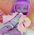 "Plush Jacket - power of pink - Online shop ""Villi Tunes Doll"""
