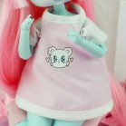 "T-shirt - pink  ^ SWEET IN LOVE ^ - Online shop ""Villi Tunes Doll"""