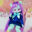 "Dress  - Stars in a distant galaxy - Online shop ""Villi Tunes Doll"""