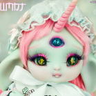 "Bunnycorn - Lamoon -  in colour Blumnt - Online shop ""Villi Tunes Doll"""