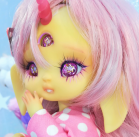 "Bunnycorn - Lamoon - light lemon yellow - Online shop ""Villi Tunes Doll"""
