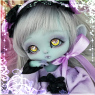 "OUTFIT  -  LOLITA - Gothic-purple and dark - Online shop ""Villi Tunes Doll"""