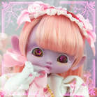 "OUTFIT  -  LOLITA - White - Strawberry - Online shop ""Villi Tunes Doll"""