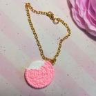 "Chain - Pink cookie - Online shop ""Villi Tunes Doll"""
