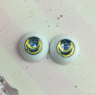 "eyes 16 -* Blue & golden moon * - Online shop ""Villi Tunes Doll"""