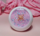 "Eye 50 mm - Pink & gold star - Online shop ""Villi Tunes Doll"""