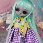 "Dress - Bunny pirates - YELLOW - Online shop ""Villi Tunes Doll"""