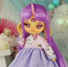 "Dress  - Bunny pirates - PURPLE - Online shop ""Villi Tunes Doll"""