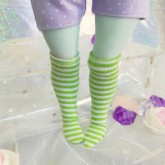 "Socks in strips - Online shop ""Villi Tunes Doll"""