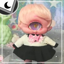 "Sailorfuku - Black Moon - for Mizuki & Chocote - Online shop ""Villi Tunes Doll"""