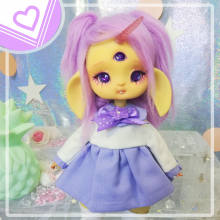"Sailorfuku - ^^Kawaii purple  - For Mouse Mimi /Bunnycorn Lamoon - Online shop ""Villi Tunes Doll"""
