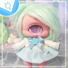 "Sailorfuku - Mercury power - for Mizuki & Chocote - Online shop ""Villi Tunes Doll"""