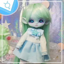 "Sailorfuku - Mercury power  - For Mouse Mimi /Bunnycorn Lamoon - Online shop ""Villi Tunes Doll"""