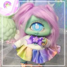 "Sailorfuku - Rainbow power - for Mizuki & Chocote - Online shop ""Villi Tunes Doll"""
