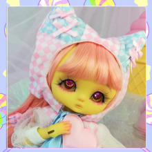 "OUTFIT  -  CAT - Candy - Blue - Online shop ""Villi Tunes Doll"""