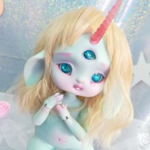 "Bunnycorn - Lamoon - light mint - Online shop ""Villi Tunes Doll"""