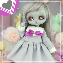 "Sailorfuku - Sakura -  Grey  - For Mouse Mimi /Bunnycorn Lamoon - Online shop ""Villi Tunes Doll"""