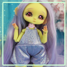 "Jumpsuit Shiny - purple - Online shop ""Villi Tunes Doll"""