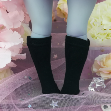 "Socks size 1\6 - simple black - Online shop ""Villi Tunes Doll"""