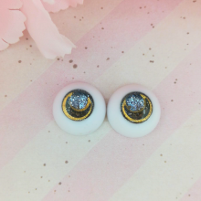 "eyes 16 mm - Onyx - Online shop ""Villi Tunes Doll"""