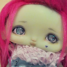 "Chocote mouse - mint - Online shop ""Villi Tunes Doll"""