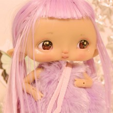 "Chocote mouse - dark tan - Online shop ""Villi Tunes Doll"""