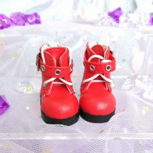 "The boots 1\6 - short - red - Online shop ""Villi Tunes Doll"""