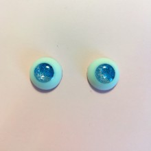 "eyes 16 - *silver blue* - Online shop ""Villi Tunes Doll"""