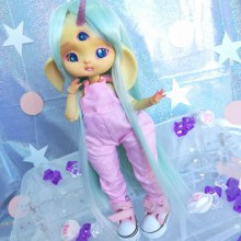 "jumpsuit pink - For Bunnycorn Lamoon - Online shop ""Villi Tunes Doll"""