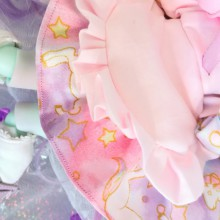 "Dress - Pink unicorn - For Mouse Mimi /Bunnycorn Lamoon - Online shop ""Villi Tunes Doll"""