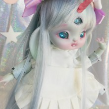 "SET - for Lamoon - maid - light blue - Online shop ""Villi Tunes Doll"""