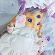 "SET - for Lamoon - maid - Coral pink - Online shop ""Villi Tunes Doll"""