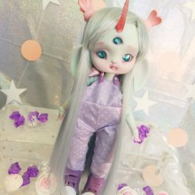 "jumpsuit purple - For Bunnycorn Lamoon - Online shop ""Villi Tunes Doll"""