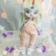 "jumpsuit purple - orange For Bunnycorn Lamoon - Online shop ""Villi Tunes Doll"""